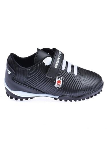 Kinetix Kinetix Agron J Turf BJK Halı Saha Erkek Çocuk Futbol Ayakkabısı Siyah